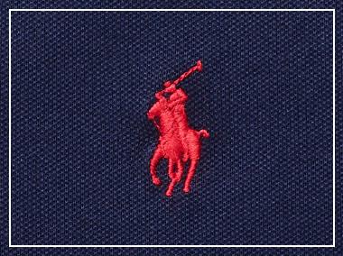 Close-up of signature embroidered pony bdf0314af462