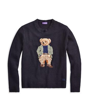 Polo Bear Cashmere Jumper